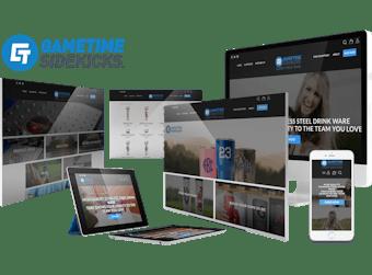 Gametime Sidekicks Custom Website Development