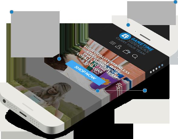 AgentOptix Gametime Sidekicks Web Design Mobile Example Two
